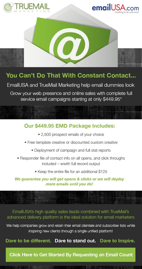Co-Branded Offer with emailUSA