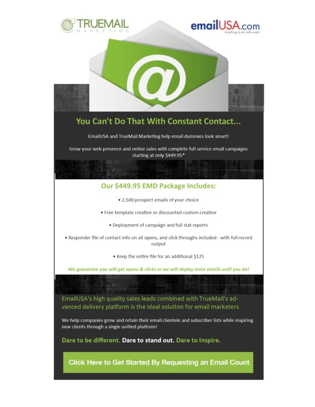 Introducing!!! Our new Co-Branded Offer with emailUSA!!!!!